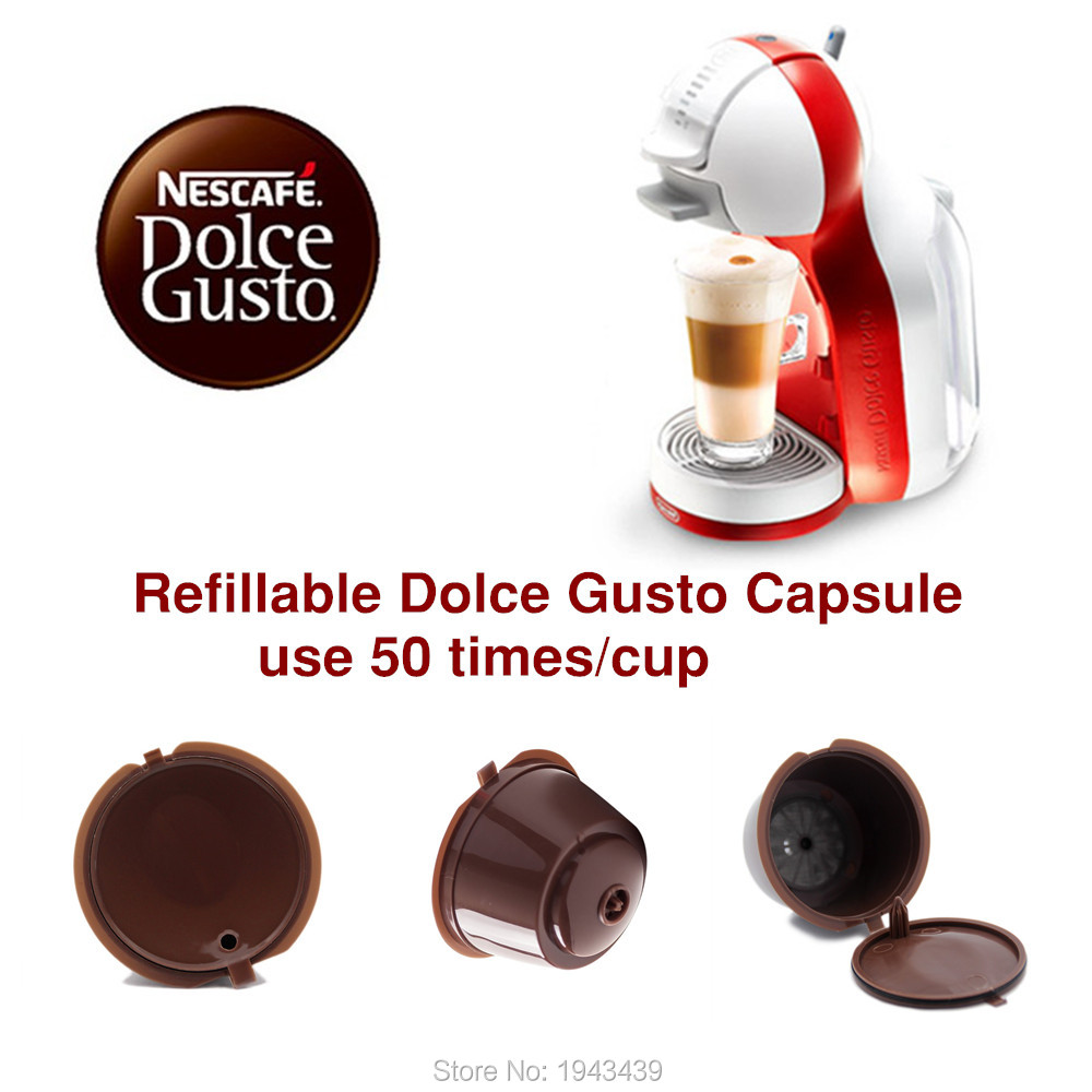 buy 3pcs pack use 150times dolce gusto coffee capsule plastic capsule. Black Bedroom Furniture Sets. Home Design Ideas