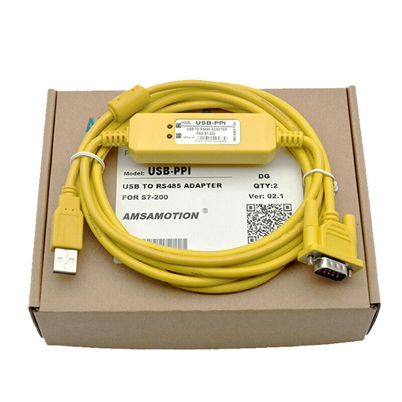 USB-PPI PLC Programming Cable For Siemens S7-200 Series PLC