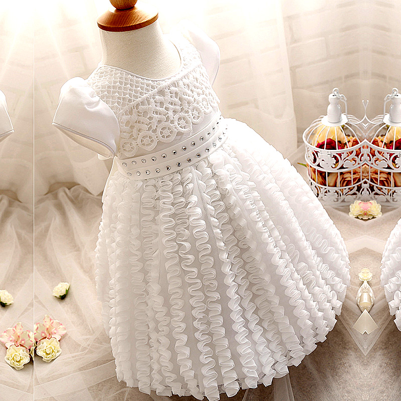 Newborn Summer Infant Baby Girl Dress Baby Birthday Dress Girls Party Christening Wedding Dresses Baby Clothing evening gowns
