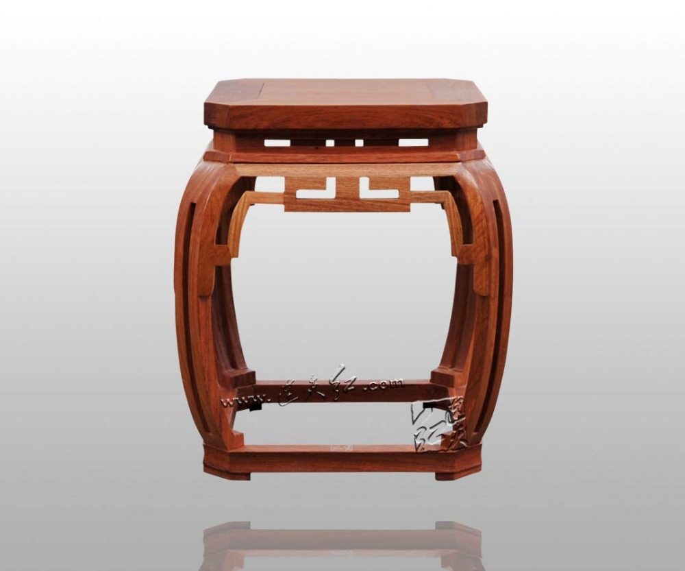 Bamboo Stool with Square Wipe Corner Grain Classical Burma ...