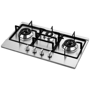 Brushed Metal Gas Stove Knobs Cooker Control Switch Range Oven Knobs Cooktop Burner Knob Gas Hob Switch Kitchen Replacement Ac