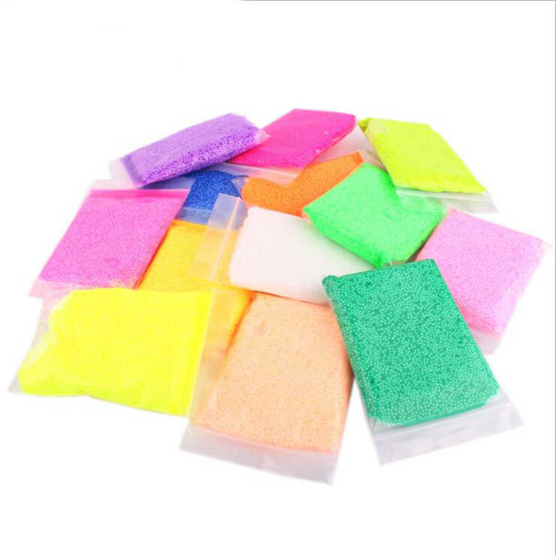 50g Snow Mud Fluffy Floam Slime Putty Scented Stress Relief Kids Toy Home Wedding Party DIY Decoration 10 Colors