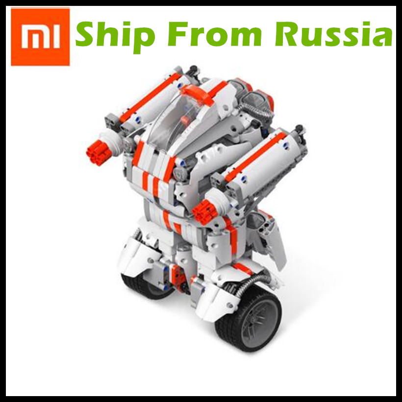 (Ship From Russia) Xiaomi Robot Mitu Building Block Robot Bluetooth Mobile Remote Control 978 Spare Parts Self-balance System peter block stewardship choosing service over self interest