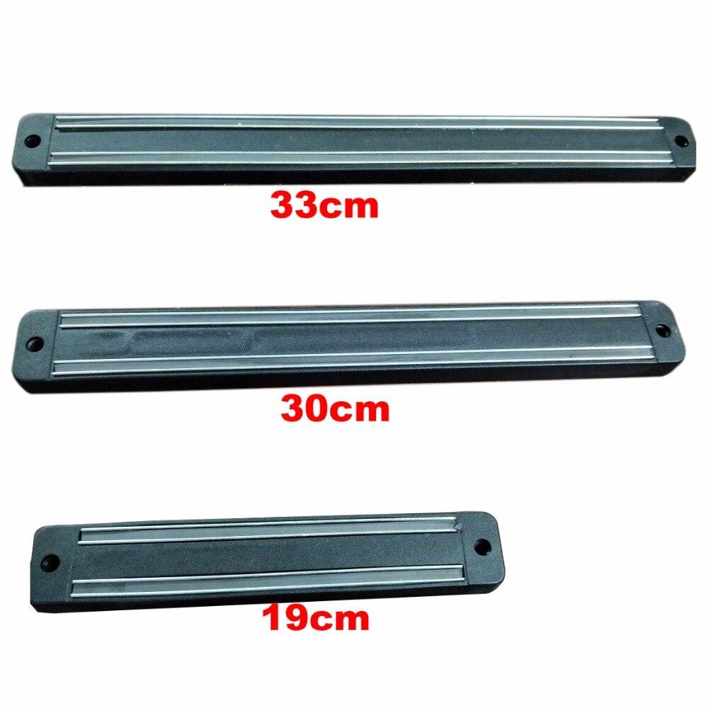 Aimant Magnétique Force Outil Reste Couteau Racks Titulaire Bar Plateau pour Maison/Garage/Cuisine/Salle de L'outil, noir 11-01