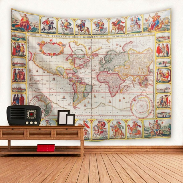 Knight world map tapestry indian mandala tapestry wall hanging beach knight world map tapestry indian mandala tapestry wall hanging beach towel yoga mat sofa blanket tapestries gumiabroncs Choice Image