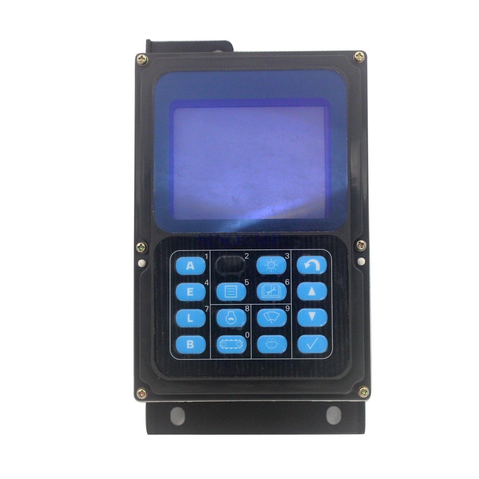 7835 12 1014 monitora panel wyświetlacza do Komatsu PC160 7 PC200 7, 1 rok gwarancji w Reaktywne regulatory mocy od Majsterkowanie na AliExpress - 11.11_Double 11Singles' Day 1