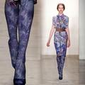 Fashion personality stockings elegant purple print thickening velvet pantyhose autumn and winter female girl women tighs
