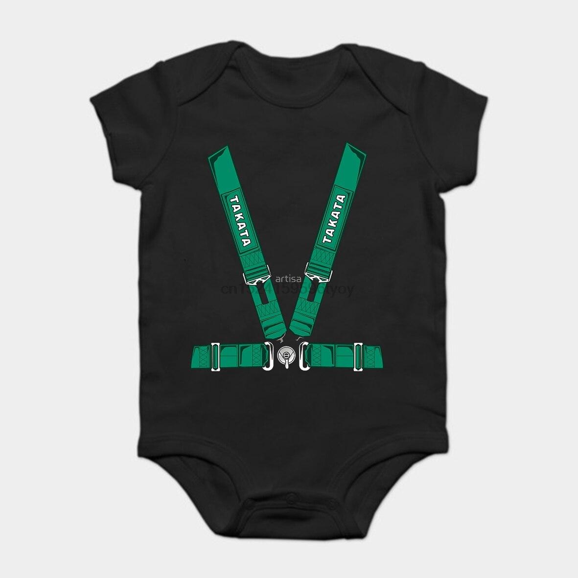 Baby Onesie Baby Bodysuits Kid T Shirt Printed Cotton Short-Sleeve TAKATA SEALTBELT