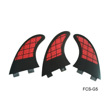 Ebuy360 (three items/lot) FCS G5 Fin Excessive-grade Honeycomb Fiberglass Surfboard Browsing Fins Surf Fin 2016 Pink and Black