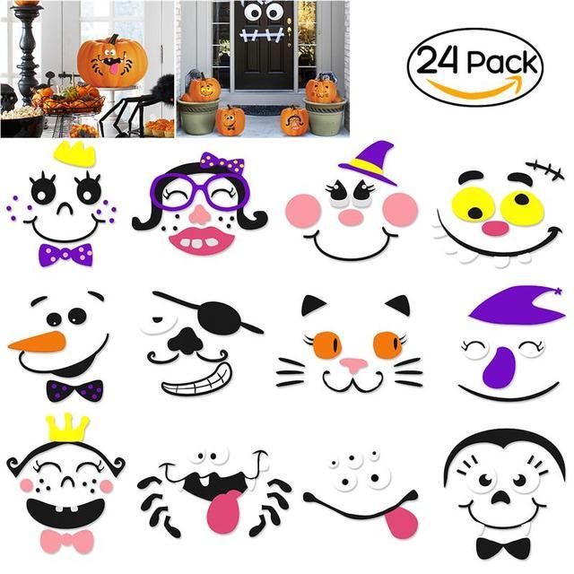 Großzügig Halloween Dekoration Ausschnitte Fotos - Ideen färben ...