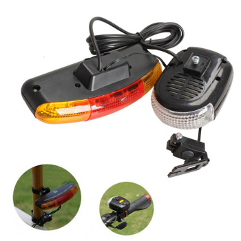 3 In1 7 LED Bicycle Bike Rear Tail Turn Signal Brake Light Horn Safety Lamp YS-BUY image
