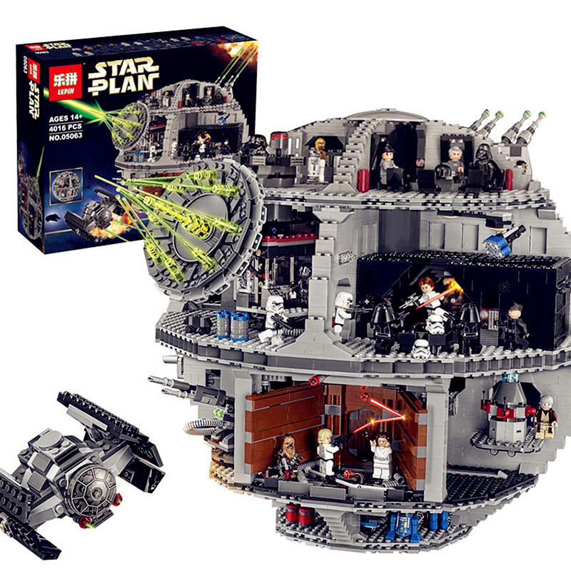 ACTUALS Lepin 05063 4016pcs New Genuine Star War Force Waken UCS Death Star Educational Building Blocks Bricks Toys  Gifts 75159