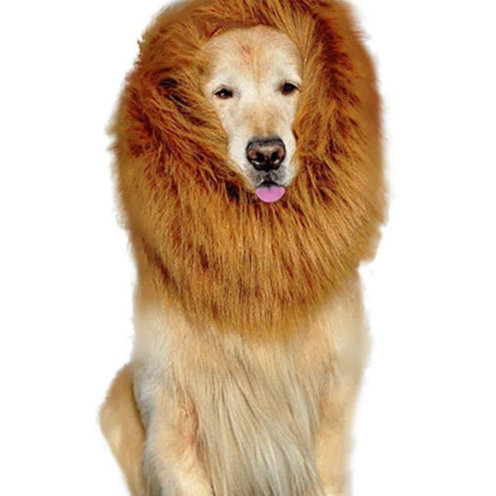 Winsome Pet Costume Dog Lion Wigs Mane Hair Festival Party Dress Up Halloweencostume Pet Lion Hair Pet Hair Brown Dog Coats Jackets From Home Pet Costume Dog Lion Wigs Mane Hair Festival Party Dress U bark post Dog Lion Costume