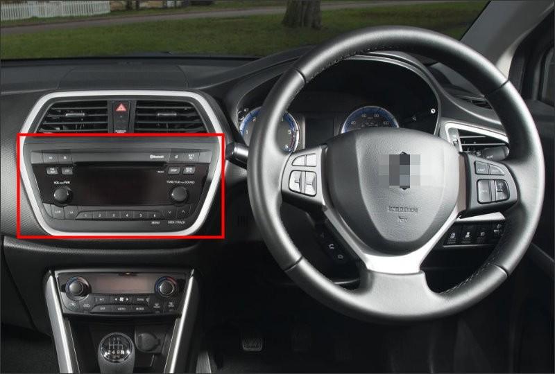 Suzuki S-Cross 2013~2016 interior