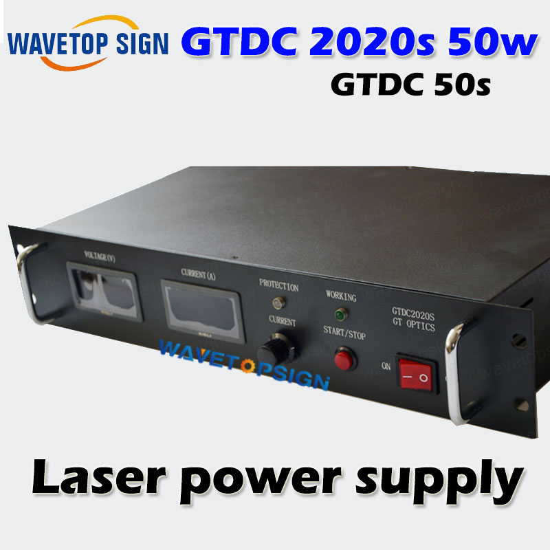50w Laser Power supply 50W GTDC2020S  match with GTPC-50S laser diode discount good quality high power gtpc 75s 75w diode pumped laser module power supply gtdc2425