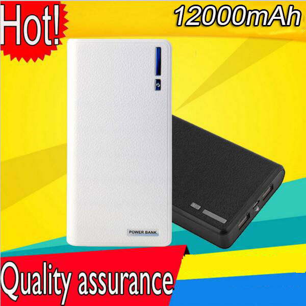 Power Bank 12000mah Portable Battery Charge/Powerbank Carregador/Charging Box/Portable Source/ Battery For Mobile Phone