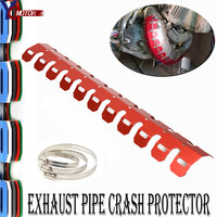 Motorbike FOR HONDA CBR900RR CBR1000RR CBR954RR CB600F MTS1100 Motorcycle Exhaust Muffler Pipe Leg Protector Heat Shield Cover