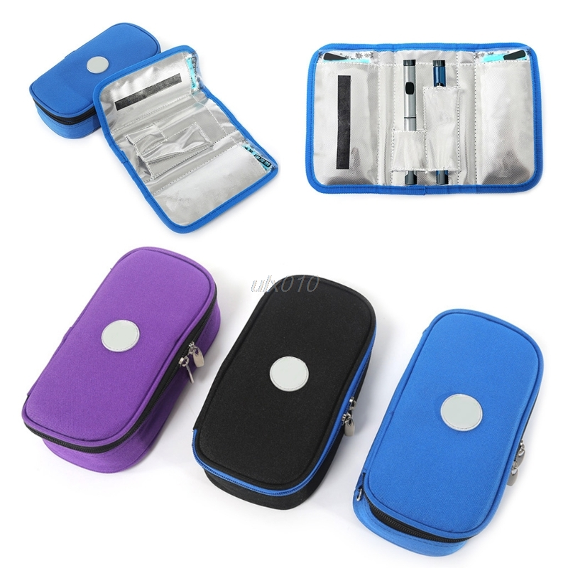 Portable Insulin Ice Cooler Bag Pen Case Pouch Diabetic Organizer Medical Travel G03 Whosale&DropShip