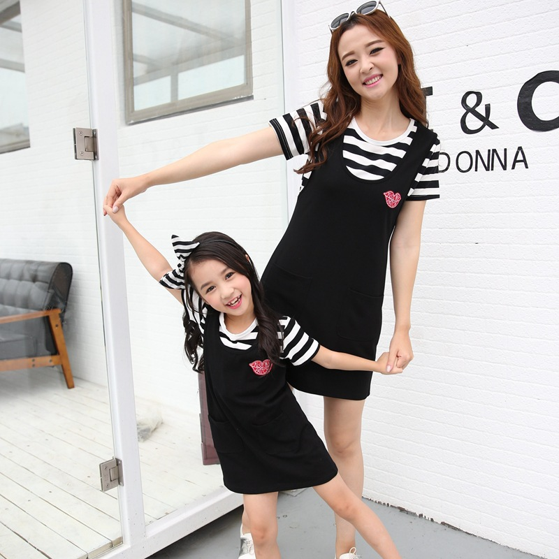 2018 summer family look matching mother daughter dresses clothes mommy and me clothes mom and daughter dress baby dress цена