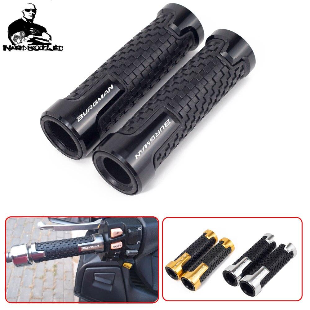 For SUZUKI BURGMAN 650 400 125 200 AN650 AN400 AN125 AN200 Motorcycle Hand Grips 7/8