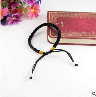 Hot Sale 1PC Sipmle Transit Red Rope Bracelet For Women Men adjustable Bead Hand-knitted Lucky Hand Rope Wholesale