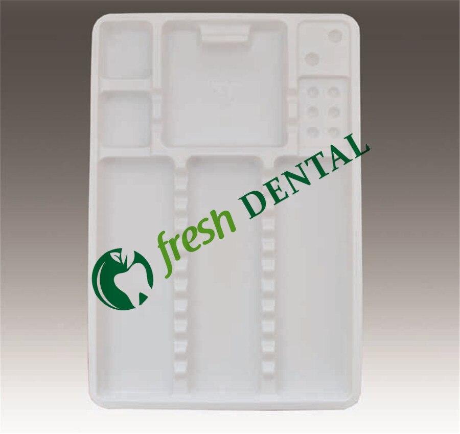 de paletes de plástico separados colocados aparelhos