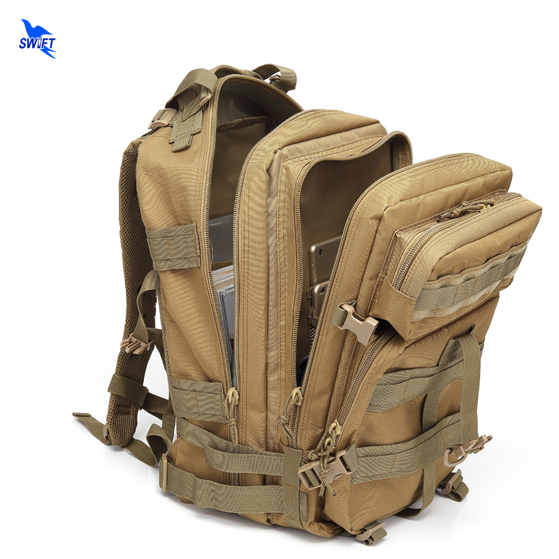 MOLLE Outdoor Sports Tactical Backpack Camping Men's Military Bag Waterproof 1000D Oxford For Travel Cycling Hiking Climbing 45L 2017 18l waterproof camping backpack 2l water bag outdoor sports climbing riding cycling travel bag sport rucksacks knapsack