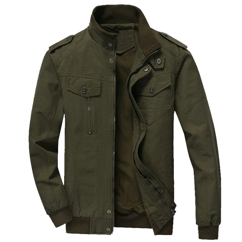 2019 Spring Autumn Bomber Jackets Coats Men Cotton Casual Workout Military Jacket Men