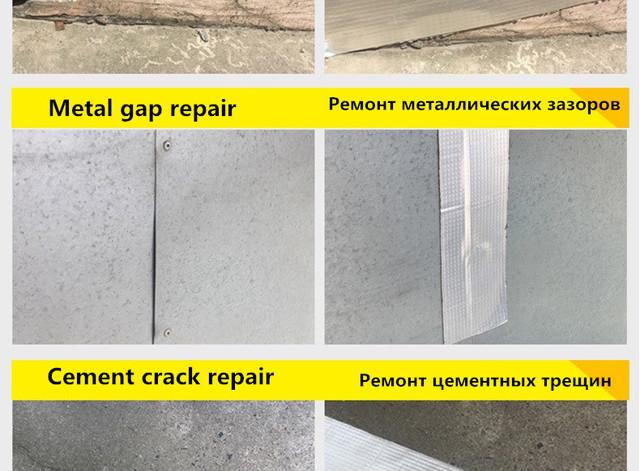 Aluminum Foil Butyl Rubber Tape Self Adhesive High temperature resistance Waterproof for Roof Pipe Repair Stop Leak Sticker