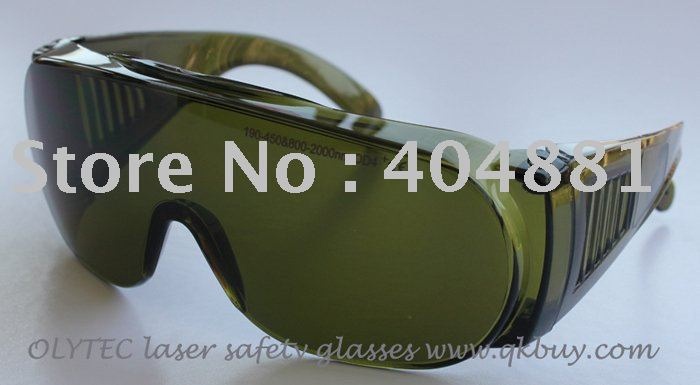 laser safety glasses 190-450nm & 800-2000nm O.D 4 + CE High VLT%