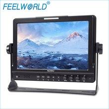 FW1018S 10.1 Дюймов IPS 3G-SDI Поле Монитор с Обострением Фокус Feelworld HDMI Фотостудия Камеры Топ Внешние Мониторы
