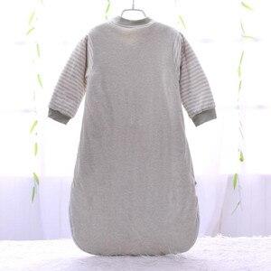 Image 2 - Sac de couchage bébé manches complètes nouveau né sac de sommeil 72*40cm bébé dormeur 0 12 mois