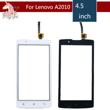 4.5 For Lenovo A2010 A 2010 LCD Touch Screen Digitizer Sensor Outer Glass Lens Panel Replacement 4 5 for lenovo a516 a 516 lcd touch screen digitizer sensor outer glass lens panel replacement