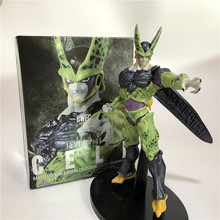 Dragon Ball Z Cell Ultimate Shape Goku Battle Soldiers Awakening DBZ Cell Awakening Brush PVC Action Figure Collection Toy