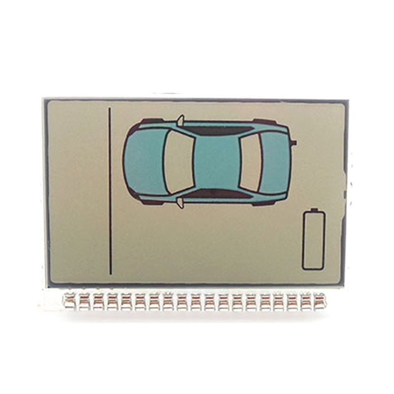 Russia Version ZX900 Lcd Display For Sheriff ZX900 ZX910 Lcd Remote Two Way Car Alarm System