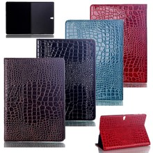 Fashion Crocodile Pattern Case For Samsung Galaxy Tab S 10 5 #8243 T800 T805 Tablet PU Leather Flip Case Cover for Samsung Galaxy T800 cheap bigmzpai Protective Shell Skin 10 5 WLD-T800pad Solid For Samsung Galaxy Tab S 10 5 T800 T805 Drop resistance Hard Shockproof