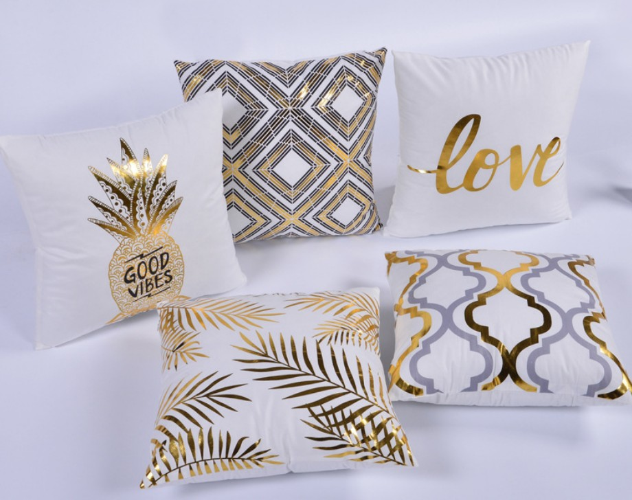 Pleasant Us 3 1 8 Off 45X45Cm Velvet Throw Pillowcase Home Decoration Pillow Case Pillow Cover Bed Chair Sofa Diy White Gold Sequin Cushion Cover B423 In Unemploymentrelief Wooden Chair Designs For Living Room Unemploymentrelieforg