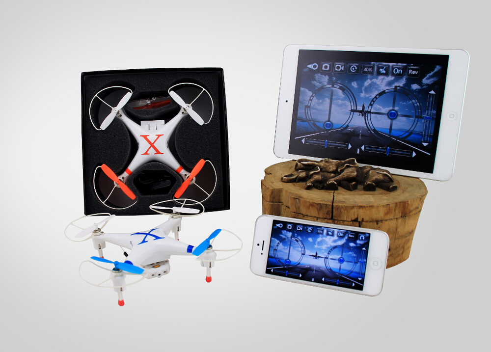 ФОТО Hot Sale Cheerson CX-30W WIFI Phone Controlled FPV RC Quadcopter Remote Control Helicopter With 0.3MP Camera Free Shipping