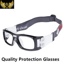 Качество мужчины спортивные защитные очки модные очки для мужчин new футбол защитные очки баскетбол оптические frame