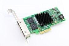 I350AM4 Chipset 10/100/1000 Mt 4-Port RJ45 PCI Express Ethernet Server Adapter NIC