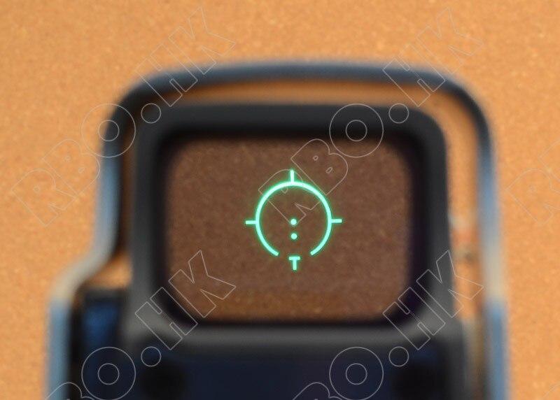 Тактический 1x Голографическая Красный точка зрения Область Qd Пикатинни Охота Стрельба черный 558 M7101