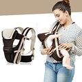 0-36 m ergonómico porta bebé infant toddler sling mochila de engranajes con una envoltura cubierta capa para bebés recién nacidos cochecito