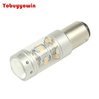 2x New 140W 1200LM BAY15D LED Brake Lamp 12V Auto Car P21 5W Daytime Driving Light