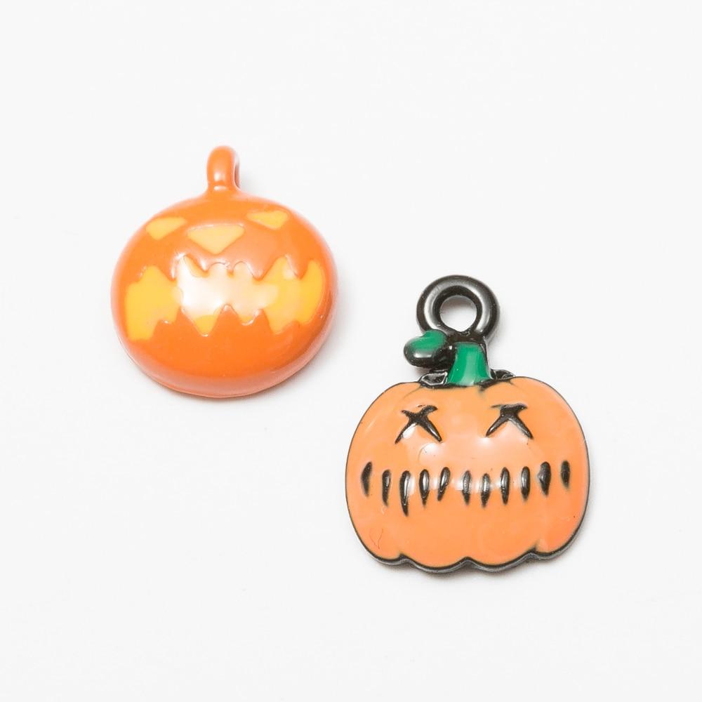 18pcs pumpkin Korean style zinc alloy metal pendant charms for diy jewelry making 4497-4499