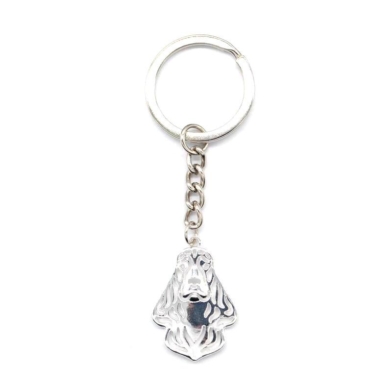 2019 Jewelry English Cocker Spaniel Dog Key Chains Lady Metal Pet Key Chains For Women