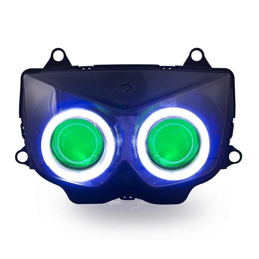 KT LED Headlight For Kawasaki Ninja 250R 2008-2012
