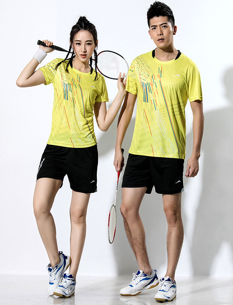 2018 New Badminton shirt , Tennis shirts Men / Women, Quick dry Tennis tshirts ,Table Tennis shirts , Ping Pong  sports shirt 1