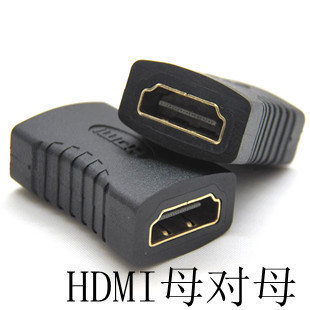 5pcs/lot  HDMI extension cable female-female pair of through head / p connect
