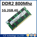 Venda 1 gb 2 gb 4 gb 8 gb ddr2 800 mhz pc2-6400 sodimm laptop de memória, memória ram ddr2 2 gb 800 pc2-6400S notebook, memoria ram ddr2 800 mhz 2 gb