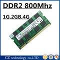 Venta 1 gb 2 gb 4 gb 8 gb ddr2 800 mhz pc2-6400 memoria sodimm portátil, memoria ram ddr2 2 gb 800 pc2-6400S portátil, memoria ram ddr2 800 mhz 2 gb